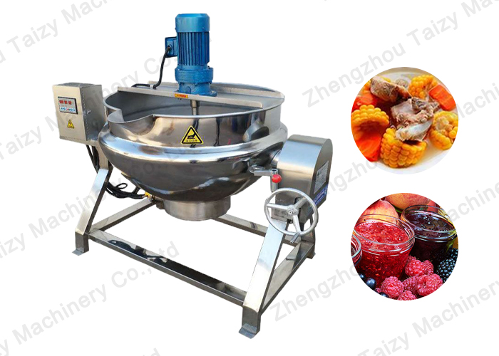 Steam Cooking Jacketed Kettle