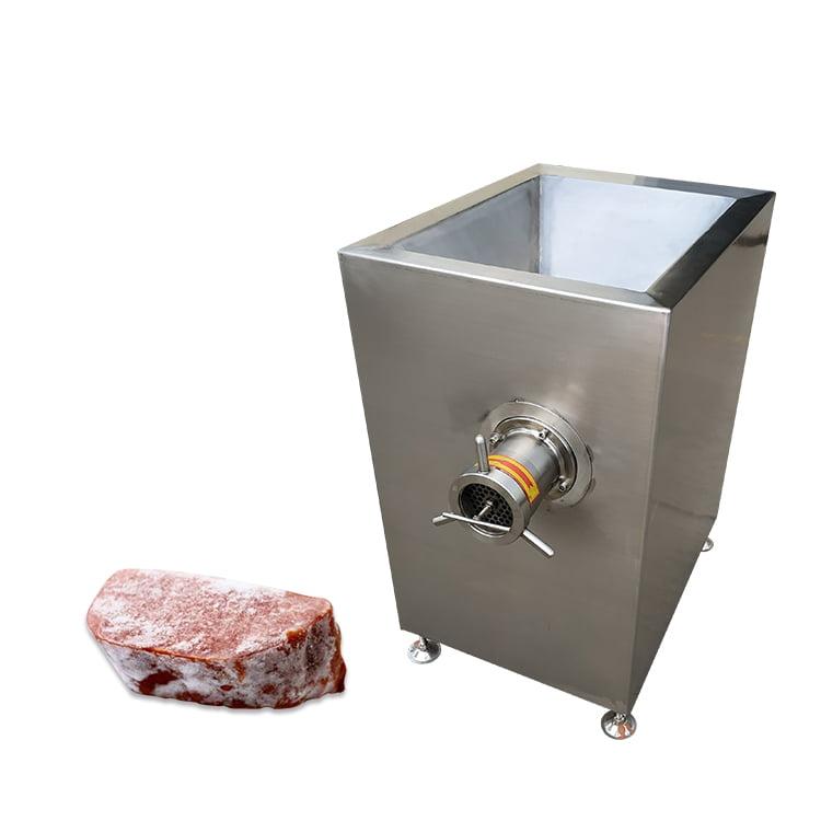 frozen meat grinding machine