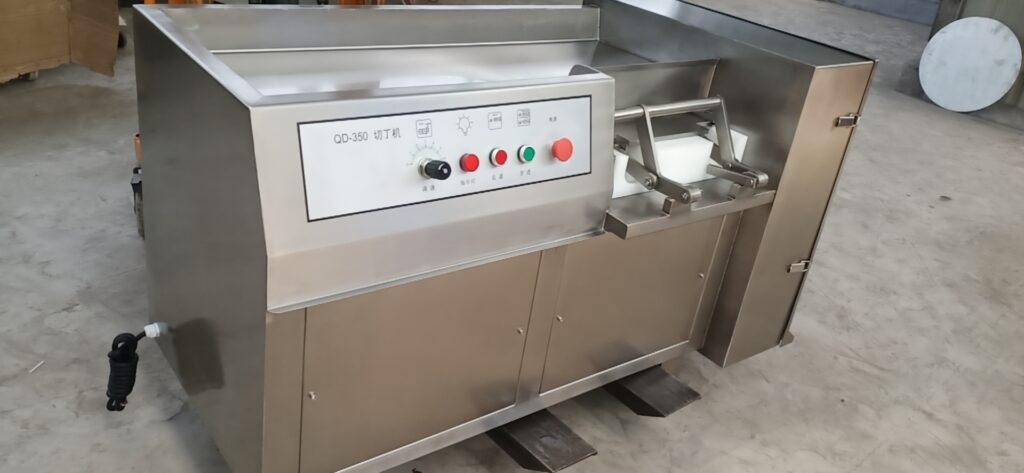 Frozen meat dicing machine delivery