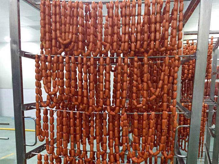 sausage production process