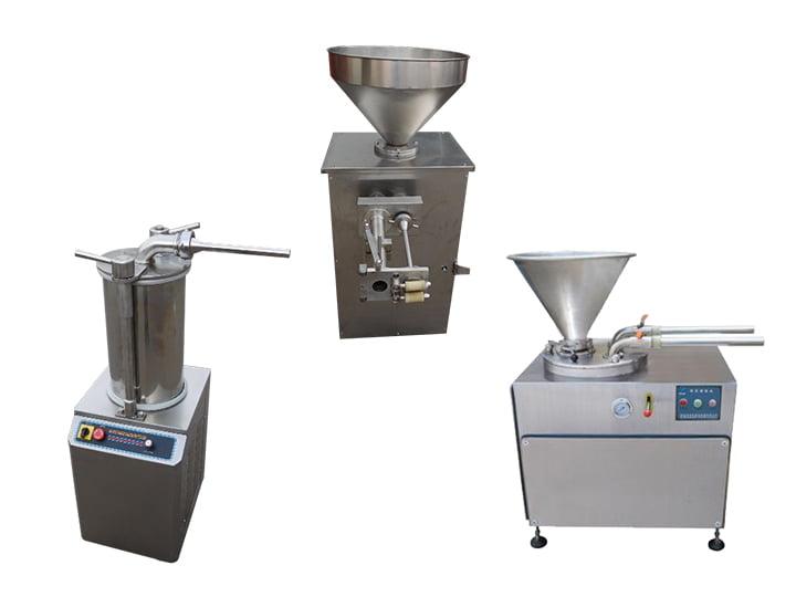 hydraulic enema machine and quantitative sausage stuffer machine