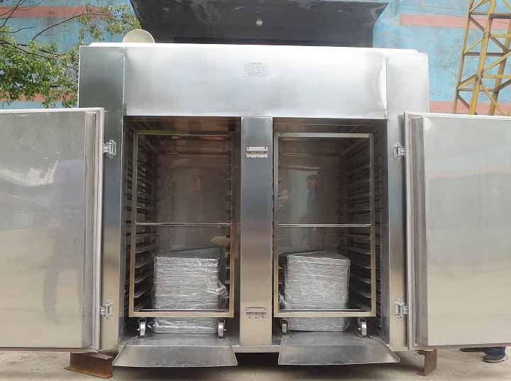 48 trays fish drying machine export to Philippines