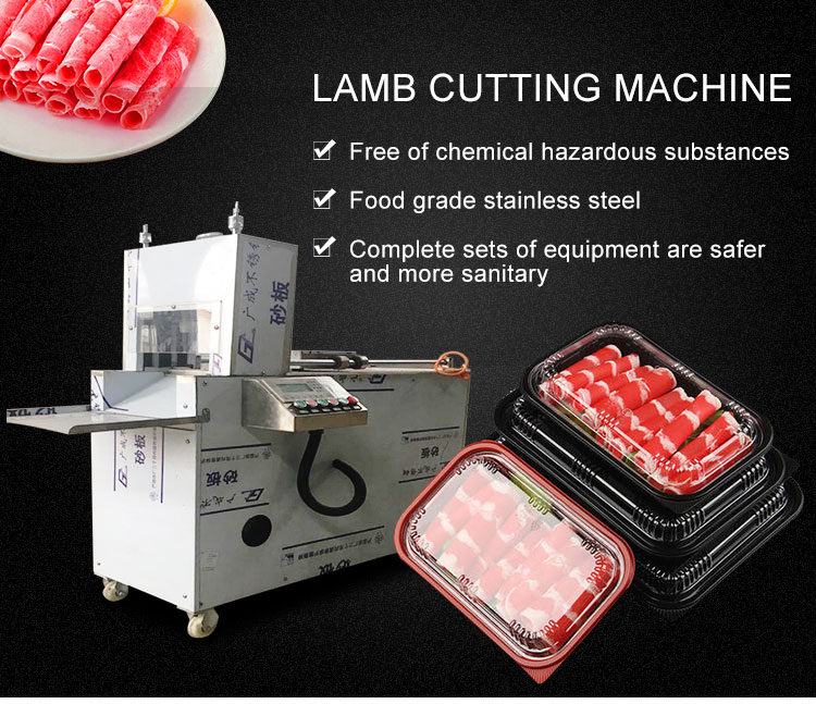 Lamb Cutting and Rolling Machine|Meat Cutter