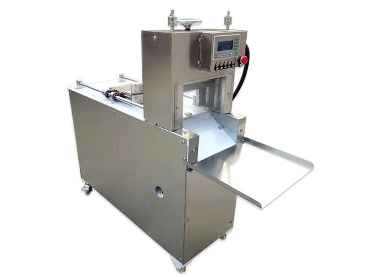 meat roll cutting machine