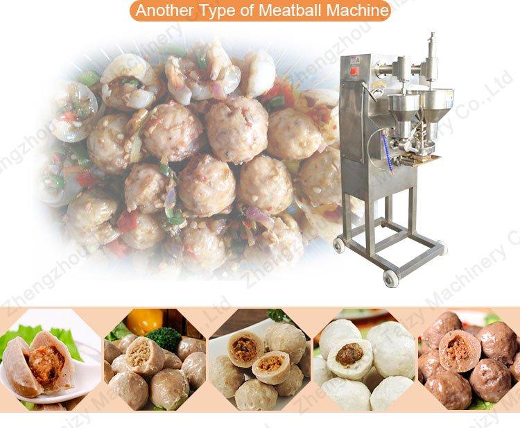 Sandwich meatball making mahcine