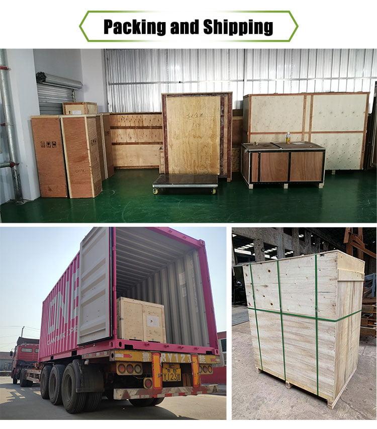 smoking machine shipping
