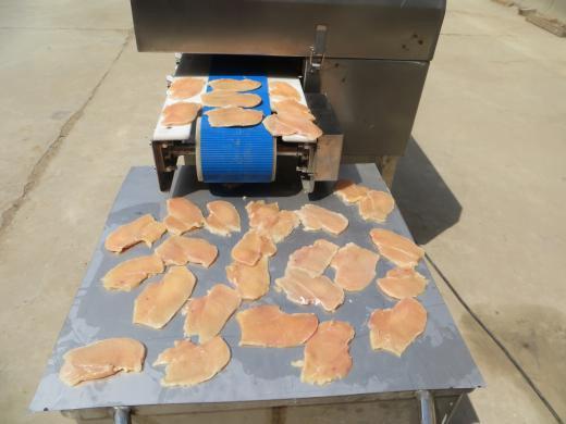 chicken breast slicer machine